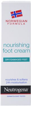 Neutrogena Foot Care odżywczy krem do nóg 2