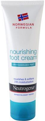 Neutrogena Foot Care výživný krém na nohy