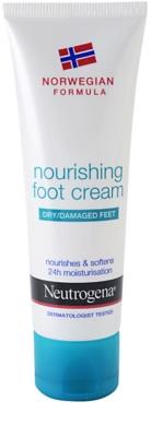Neutrogena Foot Care поживний крем для ніг