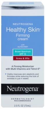 Neutrogena Healthy Skin crema hidratanta anti-imbatranire si de fermitate a pielii 1