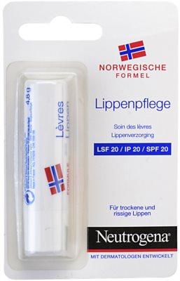 Neutrogena Lip Care bálsamo labial SPF 20