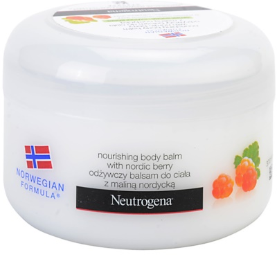 Neutrogena NordicBerry tápláló testbalzsam száraz bőrre