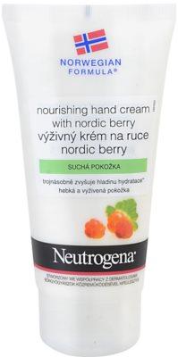 Neutrogena NordicBerry creme nutritivo para mãos