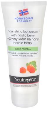 Neutrogena NordicBerry nährende Crem für Füssen