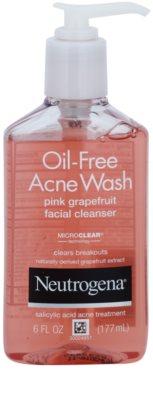 Neutrogena Oil-Free Acne Wash gel limpiador para el rostro