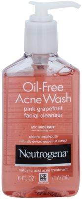 Neutrogena Oil-Free Acne Wash tisztító gél az arcra