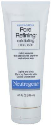 Neutrogena Pore Refining exfoliante suave para poros dilatados
