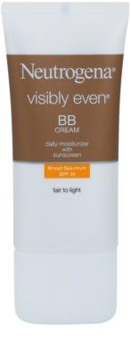 Neutrogena Visibly Even BB creme hidratante SPF 30