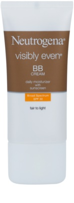 Neutrogena Visibly Even crema BB hidratante SPF 30