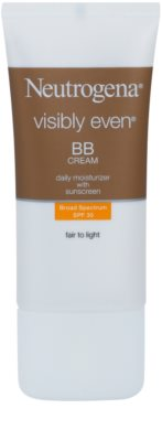 Neutrogena Visibly Even crema hidratanta BB SPF 30