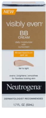 Neutrogena Visibly Even crema BB hidratante SPF 30 1