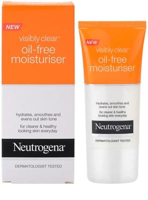 Neutrogena Visibly Clear Oil-free Moisturiser krem nawilżający 1