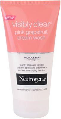 Neutrogena Visibly Clear Pink Grapefruit cremige Reinigungsemulsion