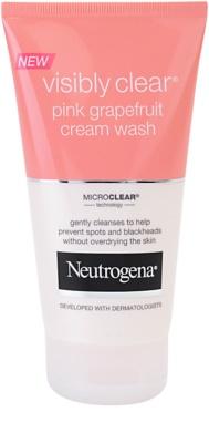 Neutrogena Visibly Clear Pink Grapefruit krémová čisticí emulze