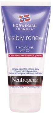 Neutrogena Visibly Renew крем для рук