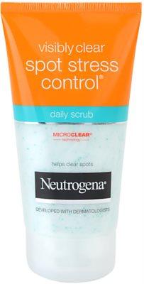 Neutrogena Visibly Clear Spot Stress Control Peeling zur täglichen Anwendung