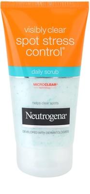 Neutrogena Visibly Clear Spot Stress Control пилинг за ежедневна употреба