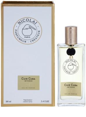 Nicolai Cuir Cuba Intense parfémovaná voda unisex