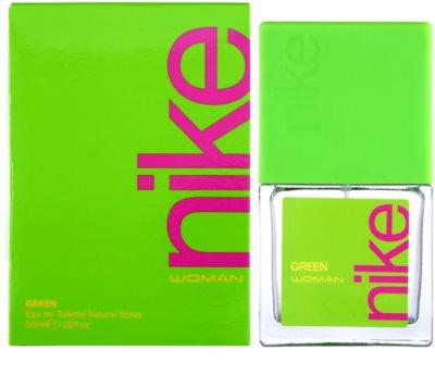 Nike Green Woman Eau de Toilette para mulheres