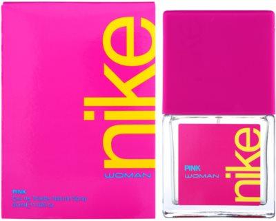 Nike Pink Woman toaletní voda pro ženy