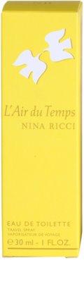 Nina Ricci L'Air du Temps Eau de Toilette pentru femei  spray pentru voiaj 4