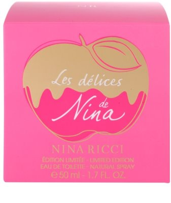 Nina Ricci Les Delices de Nina Limited Edition тоалетна вода за жени 4