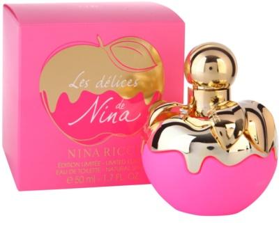 Nina Ricci Les Delices de Nina Limited Edition toaletná voda pre ženy 1