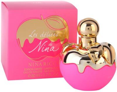 Nina Ricci Les Delices de Nina Limited Edition тоалетна вода за жени 1