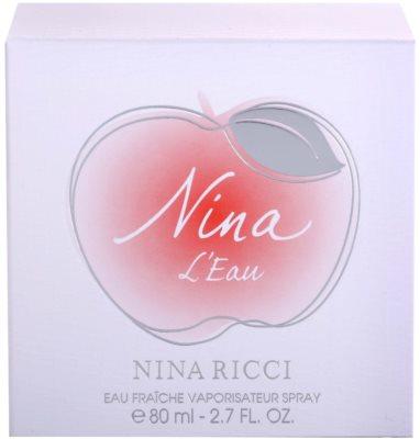 Nina Ricci Nina L'Eau Eau Fraiche Eau de Toilette pentru femei 4