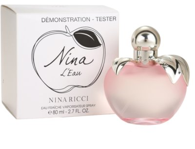 Nina Ricci Nina L'Eau Eau Fraiche eau de toilette teszter nőknek 2