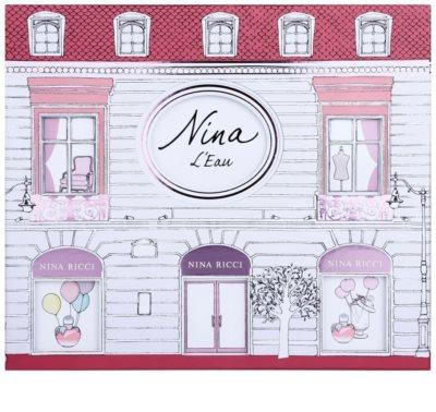 Nina Ricci L´Eau set cadou 1