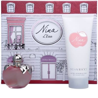 Nina Ricci L´Eau ajándékszett