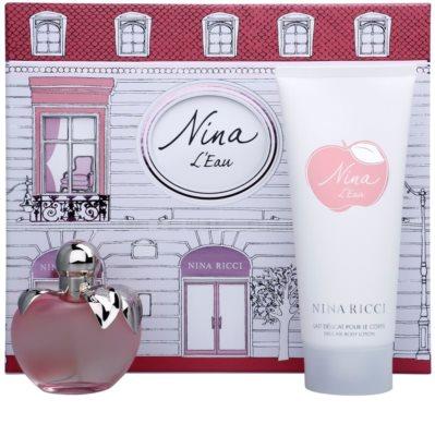 Nina Ricci L´Eau coffret presente