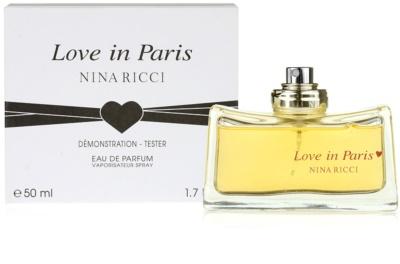 Nina Ricci Love in Paris parfémovaná voda tester pro ženy 1