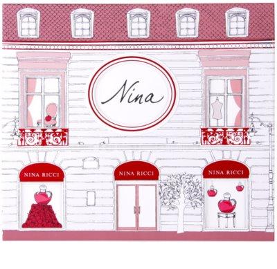 Nina Ricci Nina lotes de regalo 2