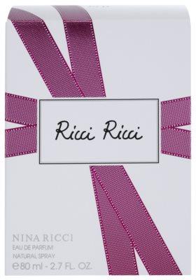 Nina Ricci Ricci Ricci Eau de Parfum para mulheres 4
