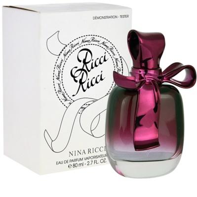 Nina Ricci Ricci Ricci eau de parfum teszter nőknek