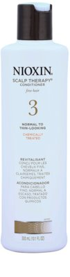 Nioxin System 3 Scalp Therapy balsam light pentru par de la normal la foarte fin tratat chimic