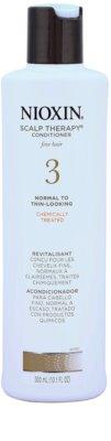 Nioxin System 3 Scalp Therapy lehký kondicionér pro počáteční mírné řídnutí jemných chemicky ošetřených vlasů