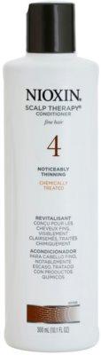 Nioxin System 4 Scalp Therapy könnyű kondicionáló vegyileg kezelt finom haj jelentős ritkulása ellen