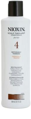 Nioxin System 4 Scalp Therapy lehký kondicionér pro výrazné řídnutí jemných chemicky ošetřených vlasů