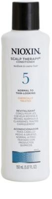 Nioxin System 5 Scalp Therapy lahek balzam za rahlo redčenje normalnih do močnih naravnih in kemično obdelanih las