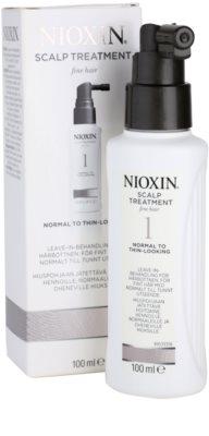 Nioxin System 1 Hautpflege für feines oder schütteres Haar 1