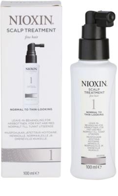 Nioxin System 1 Hautpflege für feines oder schütteres Haar 2