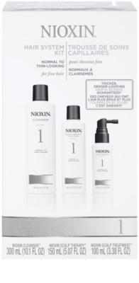 Nioxin System 1 косметичний набір II.