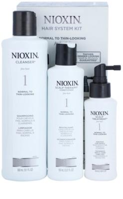Nioxin System 1 lote cosmético III. 1