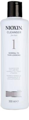 Nioxin System 1 champú limpiador para cabello fino