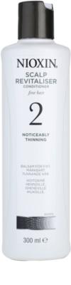 Nioxin System 2 condicionador para queda excessiva do cabelo naturalmente fino