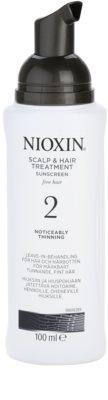 Nioxin System 2 bőrápolás a finom természetes haj jelentős elvékonyodása ellen 1