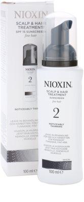 Nioxin System 2 ošetření pokožky pro výrazné řídnutí jemných přírodních vlasů 2